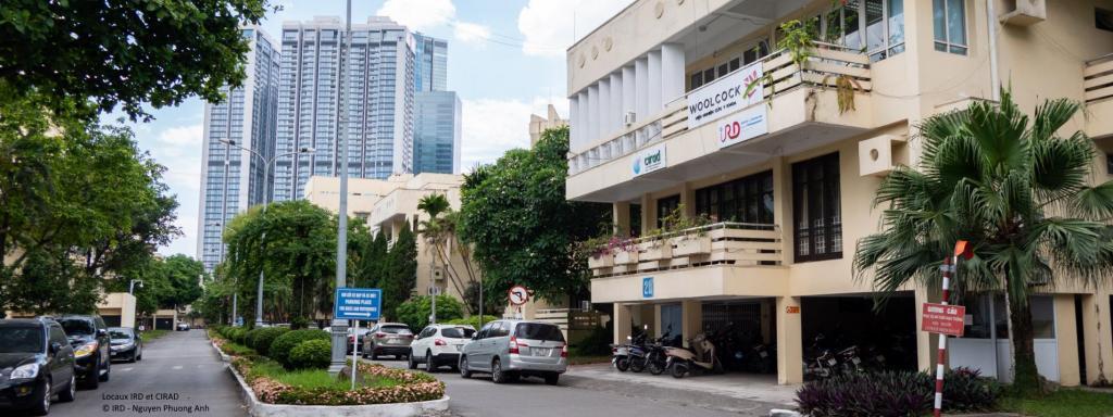 Locaux IRD et CIRAD à Hanoï au Vietnam